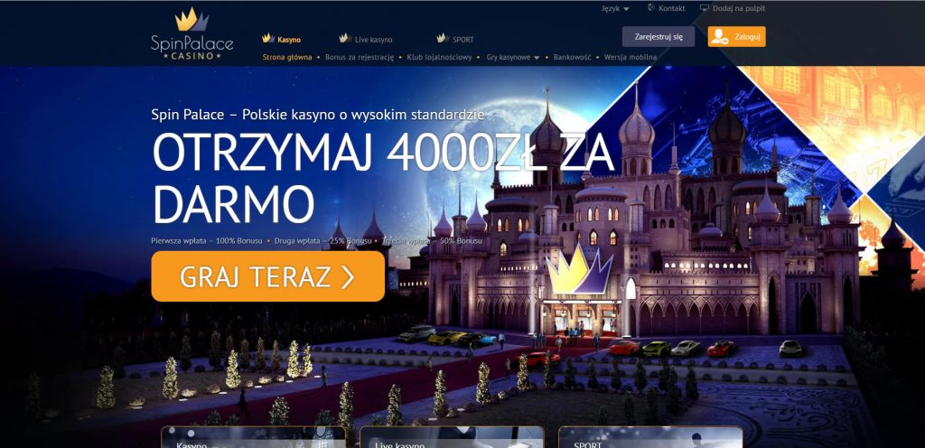Spin Palace Casino PL